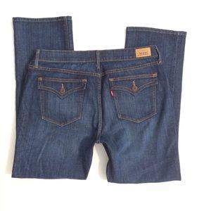 Levis 525 Perfect Waist Straight Leg Jeans 16